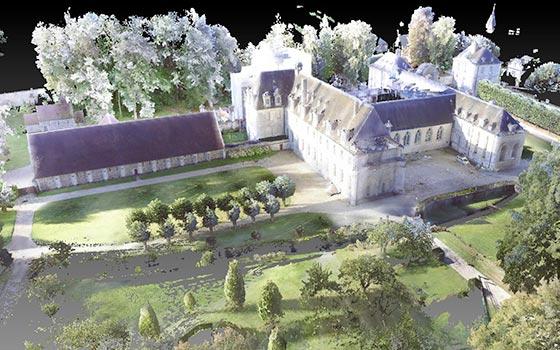 Numérisation de l'Abbaye de St Wandrille