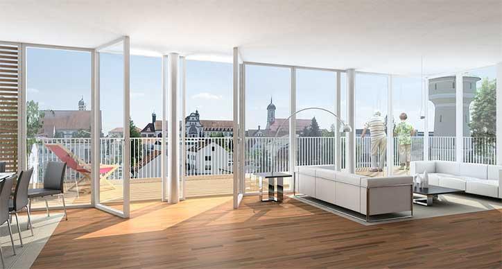 Simulation 3D d'appartement