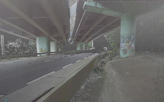 Numérisation 3D du viaduc