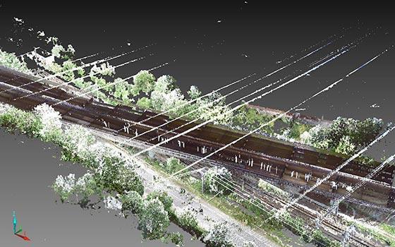 Visualisation 3D du viaduc de Guerville