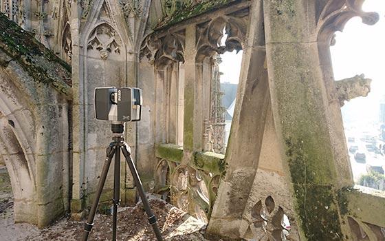 Numérisation 3D de monuments historiques