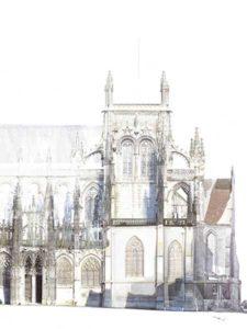 Notre Dame de Louviers plan 3D